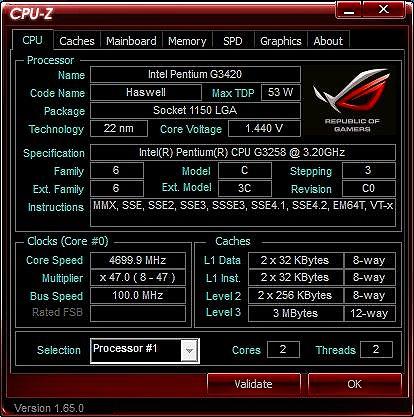 CPU 4 7GHz