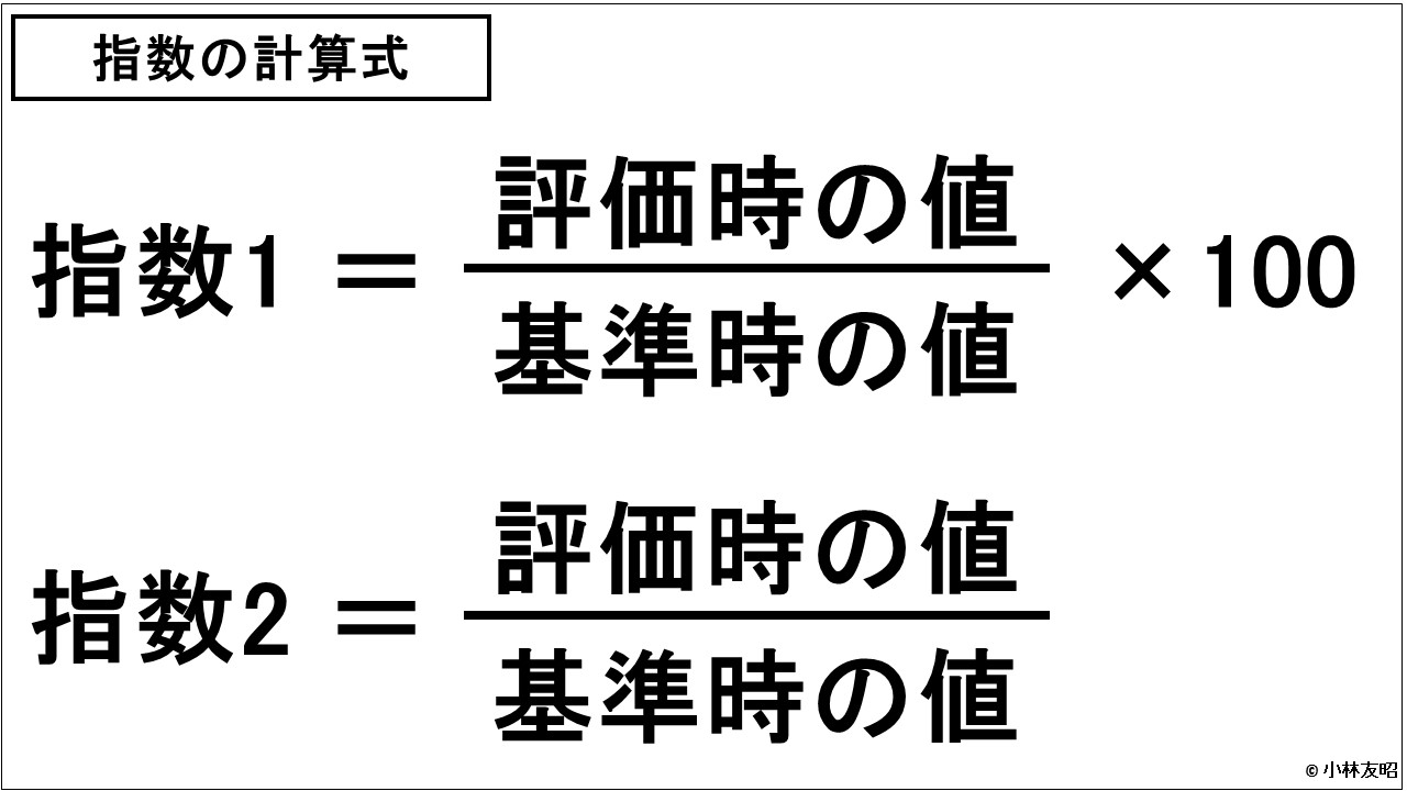 財務分析(入門編)_指数の計算式
