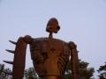 たたずむロボット兵