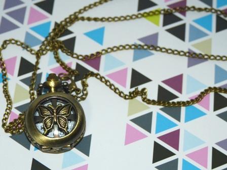 DOLCEさんで買った懐中時計