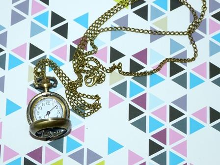 DOLCEさんで買った懐中時計2