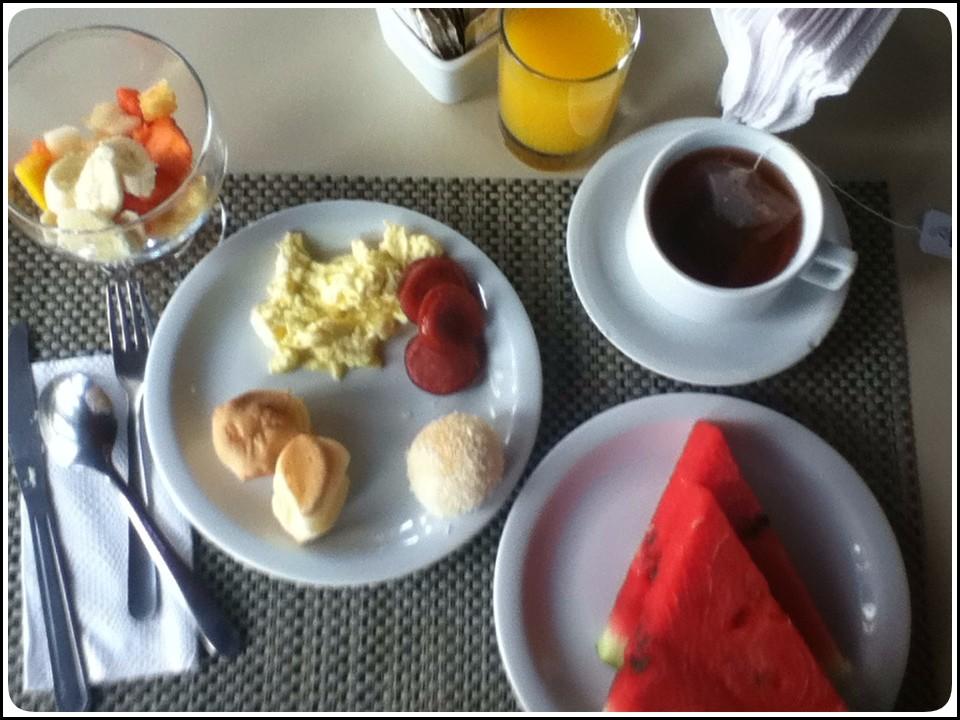 朝食ラスト