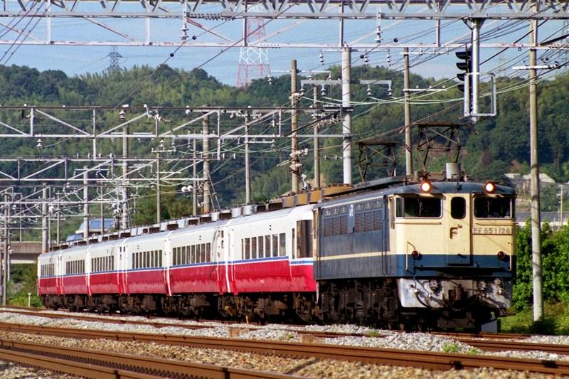1996年8月13日 高槻~山崎にて (2)