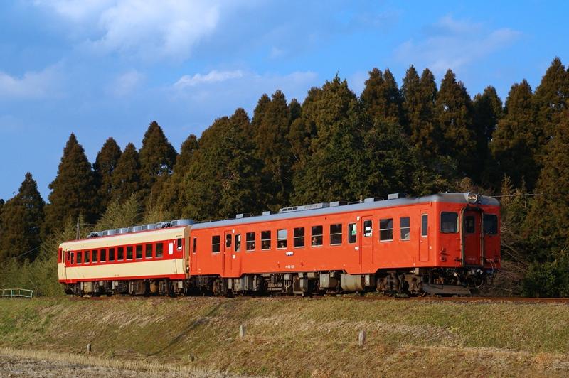2014年12月31日 大多喜~小谷松にて