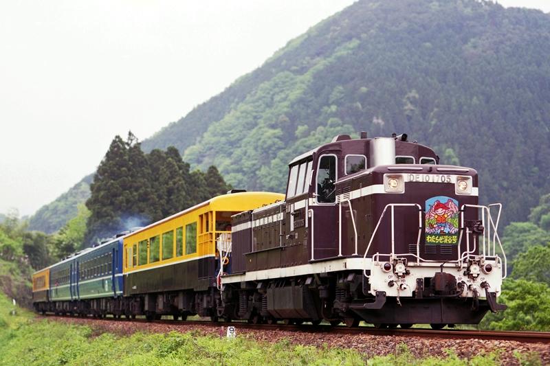 1998年5月5日 本宿~上神梅にて