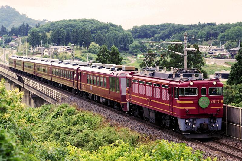 1998年6月6日 金谷川~松川にて
