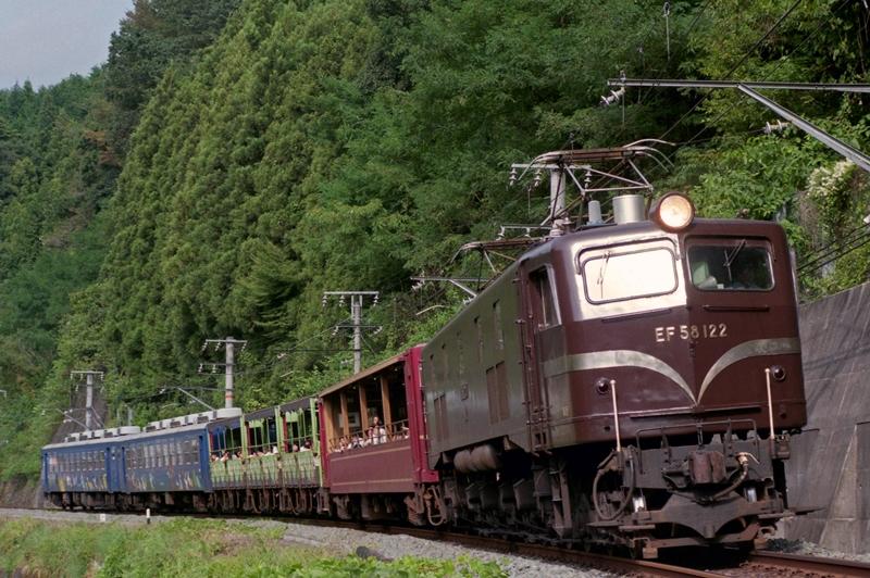 1995年9月10日 下川合~早瀬にて