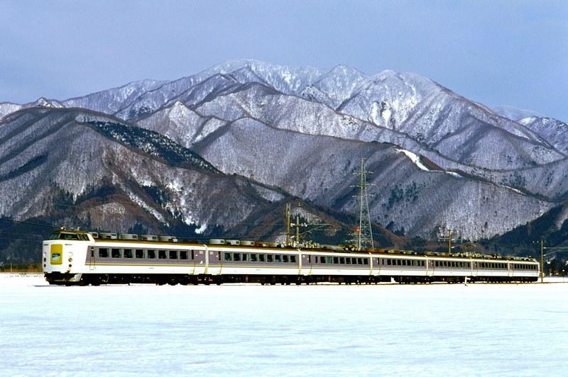 1997年3月2日 川桁~猪苗代にて