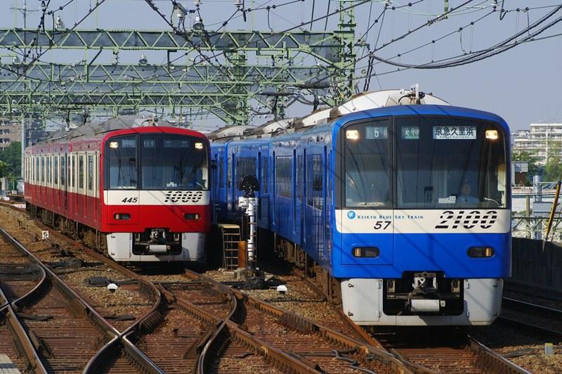 2008年7月2日 京急川崎にて (2)