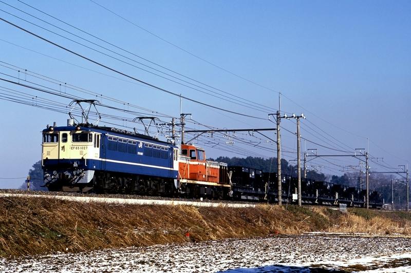 1998年2月16日 蓮田~東大宮にて