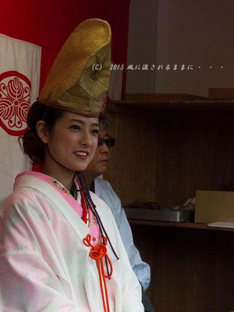 2015年1月 大阪・今宮戎神社の十日戎での風景5