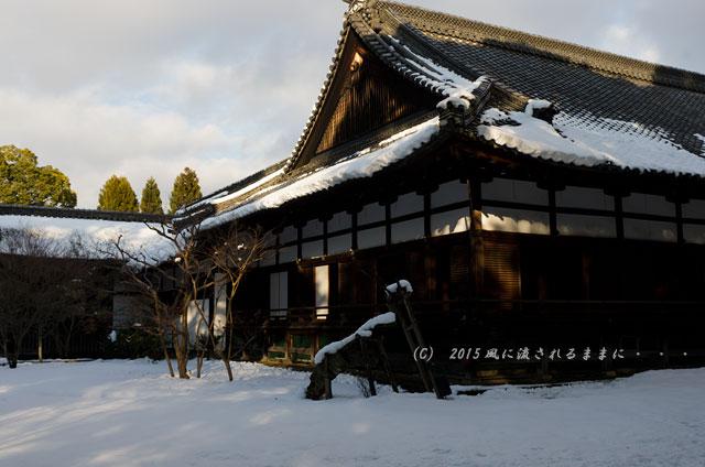 京都・青蓮院門跡(しょうれんいんもんぜき)の雪景色10