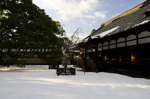 京都・青蓮院門跡(しょうれんいんもんぜき)の雪景色11