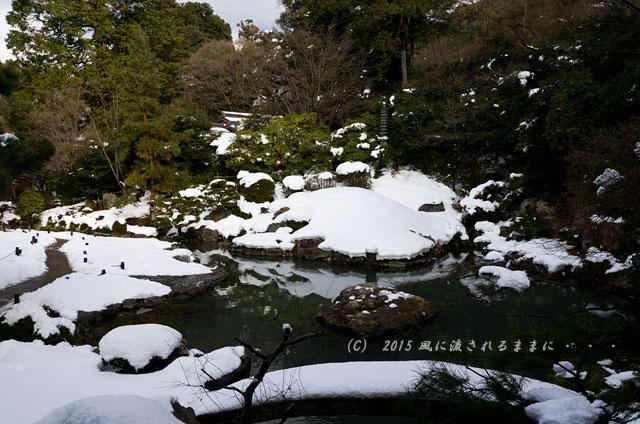京都・青蓮院門跡(しょうれんいんもんぜき)の雪景色15
