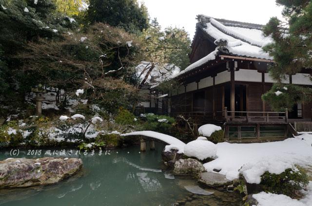 京都・青蓮院門跡(しょうれんいんもんぜき)の雪景色9