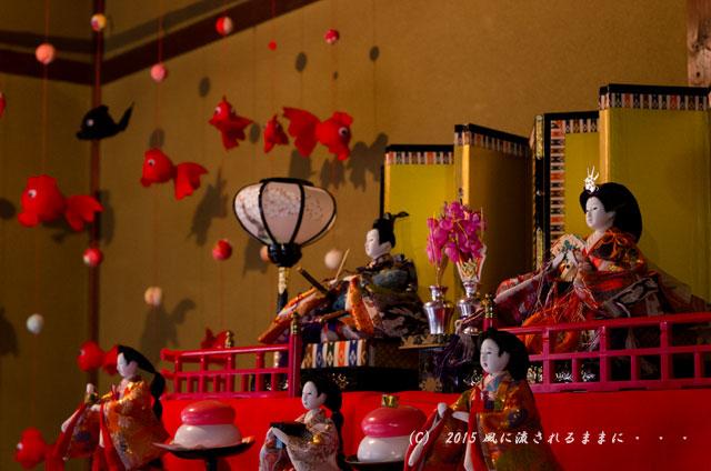 2015年2月21日撮影 奈良・大和な雛まつり 旧川本邸編6