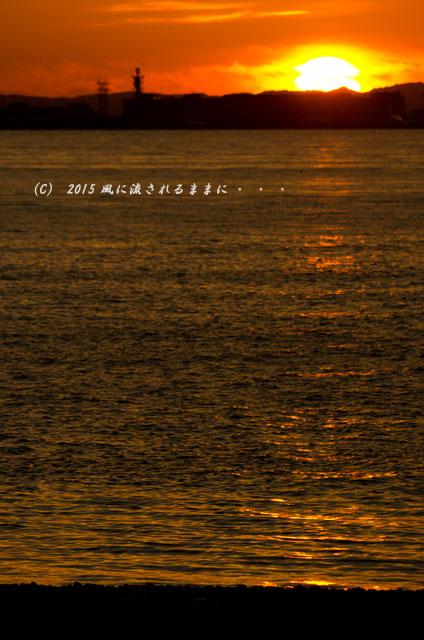 2015年6月 大阪・マーブルビーチの夕日11