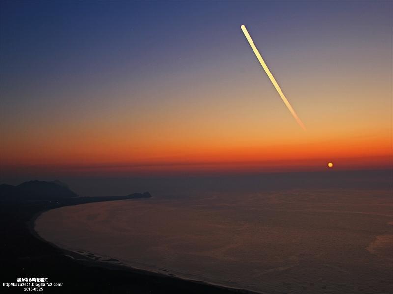 60d-火山夕陽