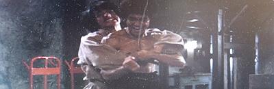 ブルース・リーと対決するジャッキー・チェン