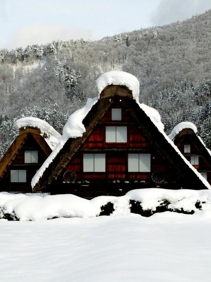 【世界遺産 白川郷】天守閣展望台から見る雪景色にシアワセ感じるニッポンの冬休み ⑤