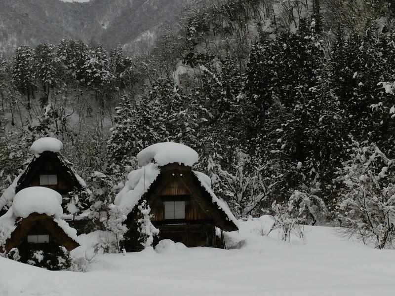 【世界遺産 白川郷】天守閣展望台から見る雪景色にシアワセ感じるニッポンの冬休み ⑥