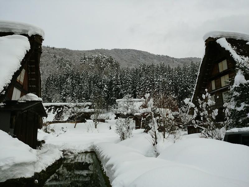 【世界遺産 白川郷】天守閣展望台から見る雪景色にシアワセ感じるニッポンの冬休み ⑦