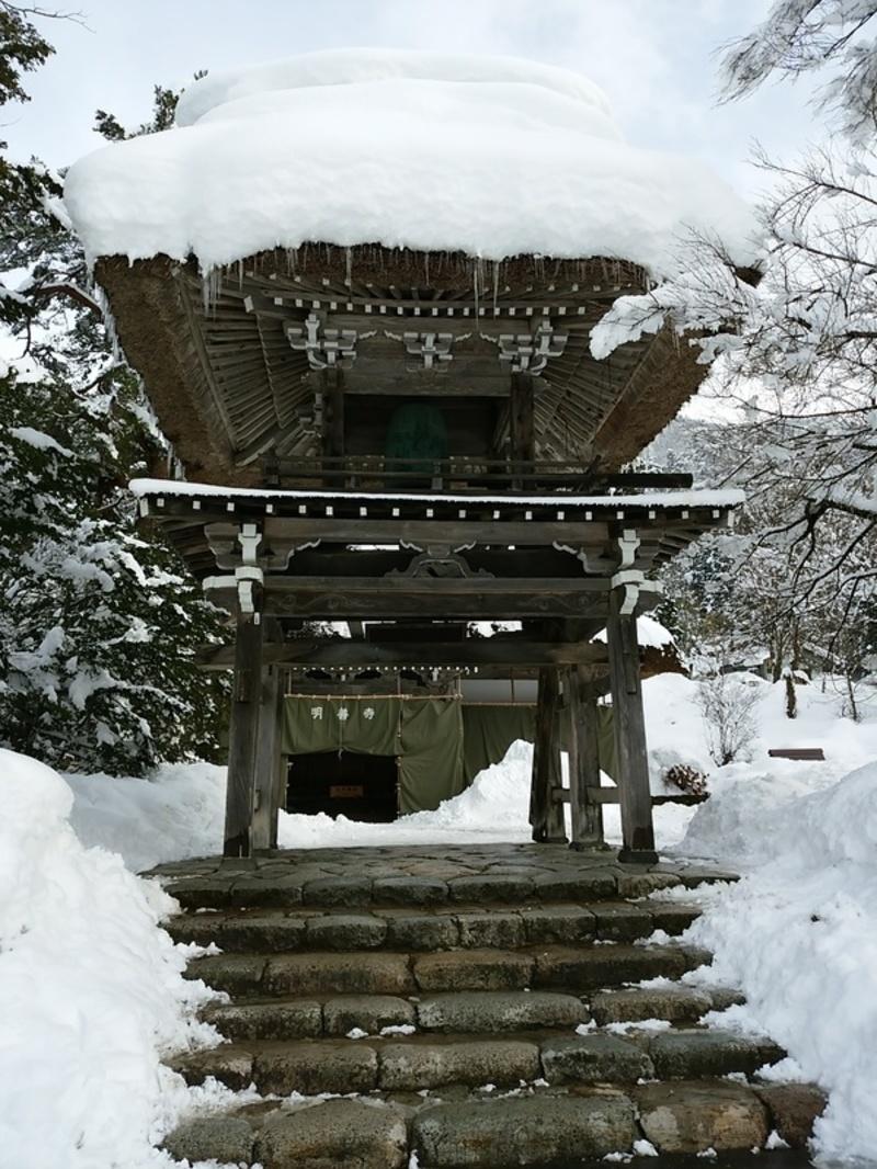【世界遺産 白川郷】天守閣展望台から見る雪景色にシアワセ感じるニッポンの冬休み ⑧