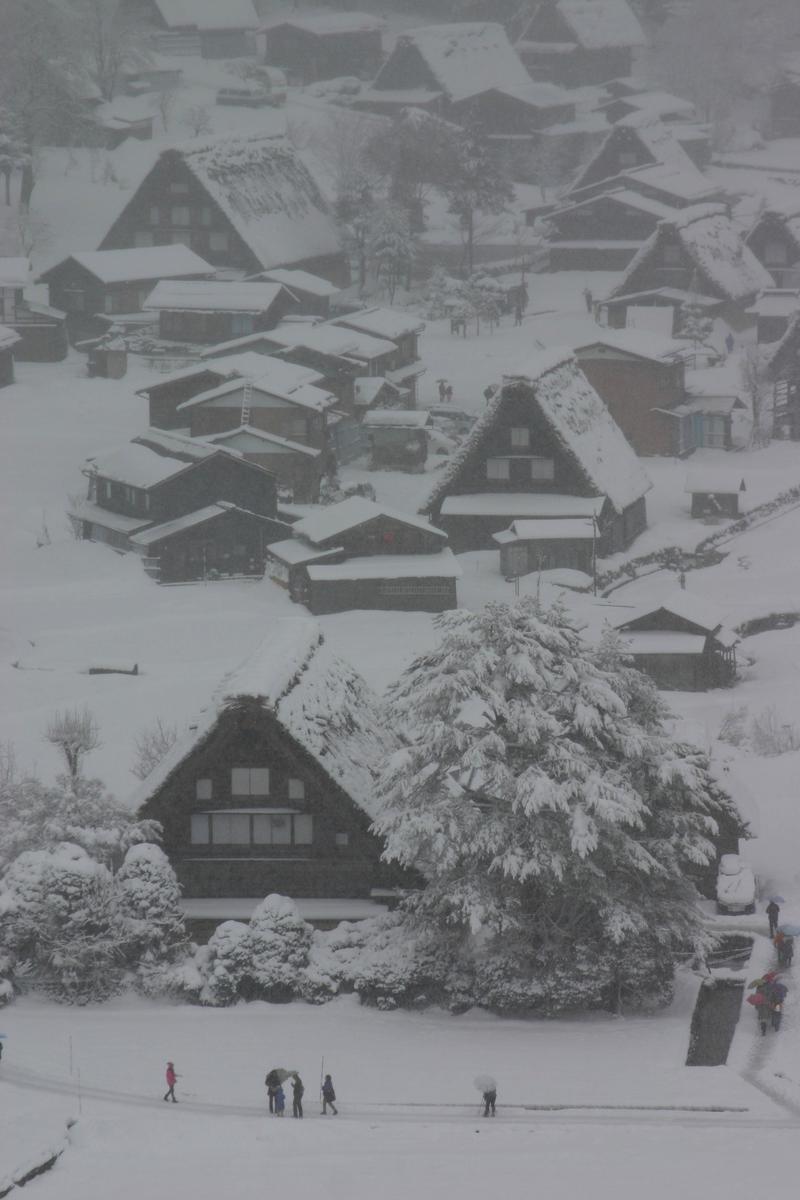 大晦日からお正月は白川郷でゆっくり、何もしない贅沢を。。。②