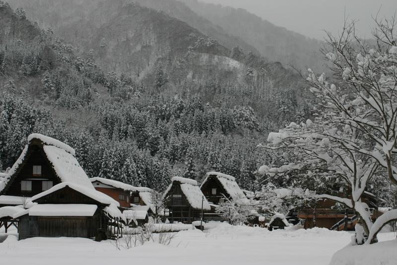 大晦日からお正月は白川郷でゆっくり、何もしない贅沢を。。。③