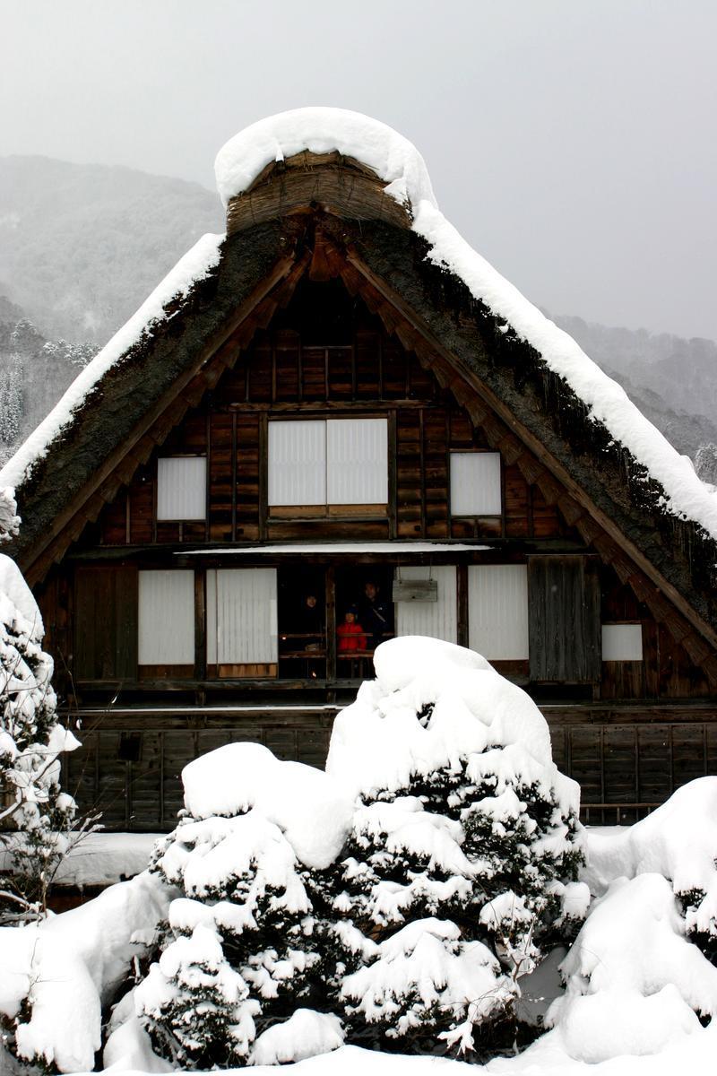 大晦日からお正月は白川郷でゆっくり、何もしない贅沢を。。。④