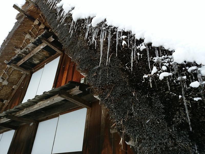 昔はどこにでもみられた日本の冬の風景 白川郷 ⑧