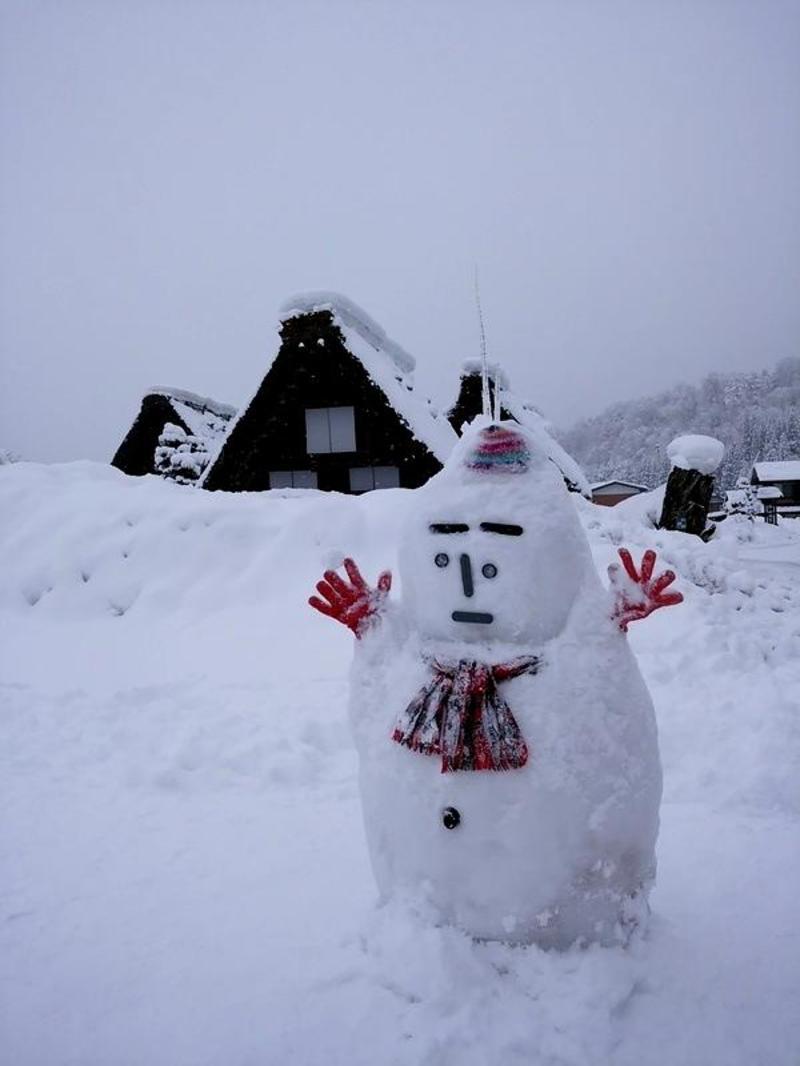 昔はどこにでもみられた日本の冬の風景 白川郷 ⑨
