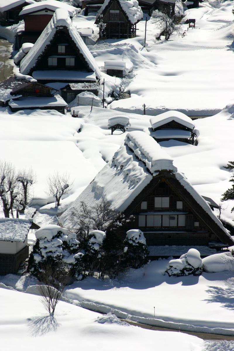 1月3連休は世界遺産白川郷を見て温泉でゆっくり♪【思いのまま】 ④
