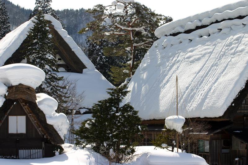 1月3連休は世界遺産白川郷を見て温泉でゆっくり♪【思いのまま】 ⑨