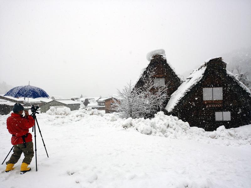 冬の白川郷は寒い、でも、静けさの中だからこそ ⑦