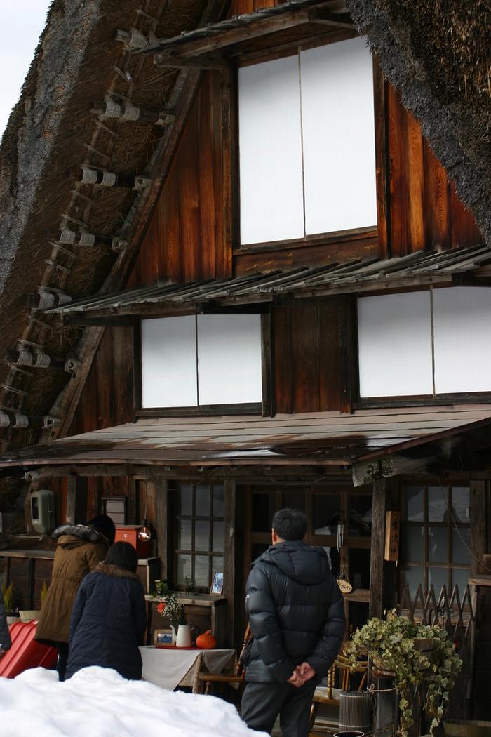 真冬の風物詩 白川郷合掌造り集落のライトアップが1月31日&2月1日始まります ⑤
