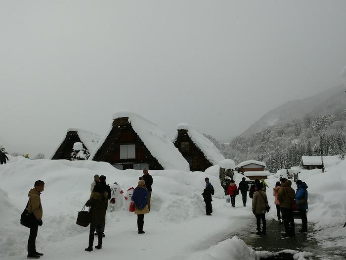 感動の冬に巡り会う旅~白川郷~ ⑦