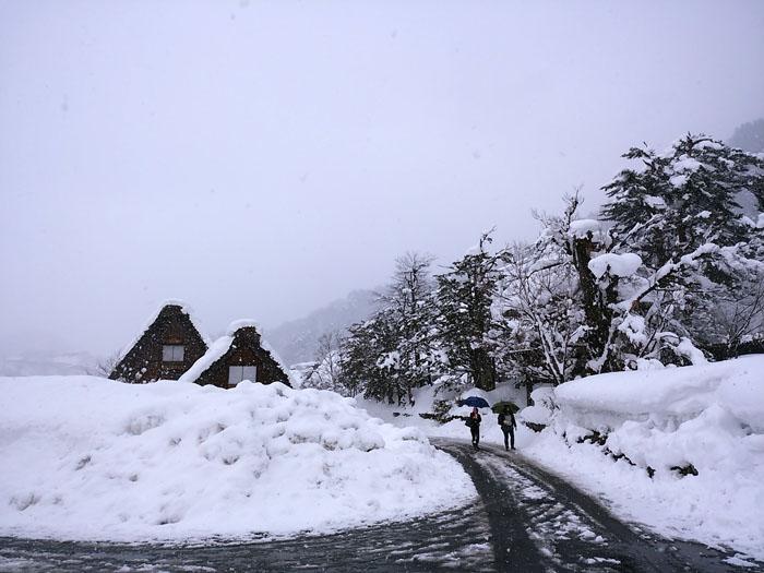 まだまだ冬景色の早春に、ゆっくり白川郷を満喫 ③