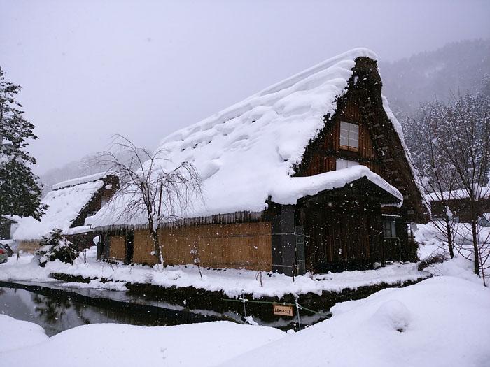 まだまだ冬景色の早春に、ゆっくり白川郷を満喫 ④