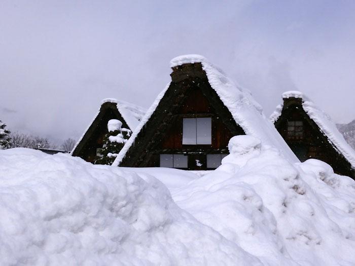 まだまだ冬景色の早春に、ゆっくり白川郷を満喫 ⑨