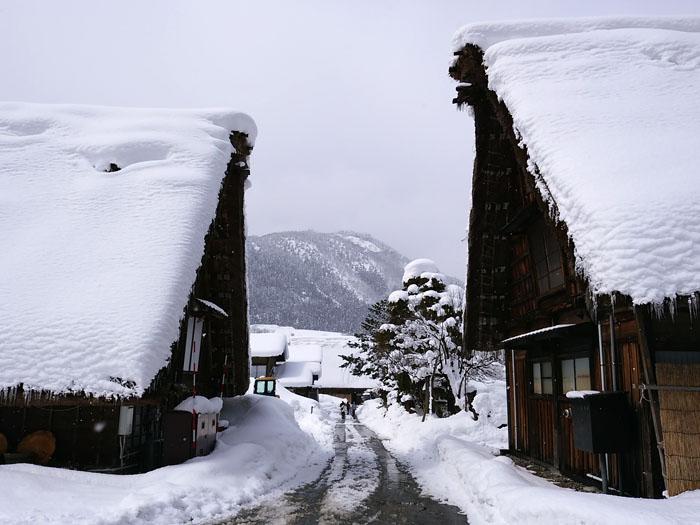 まだまだ冬景色の早春に、ゆっくり白川郷を満喫 ⑩