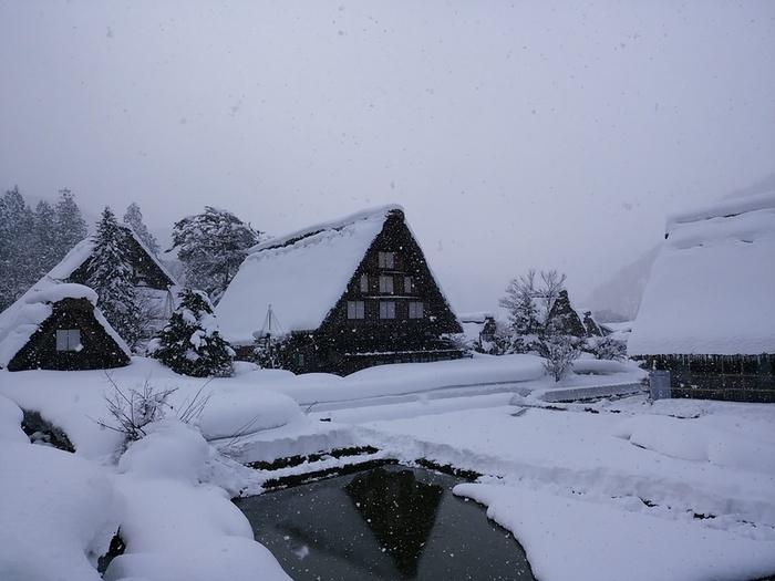 まだまだ寒い日が続いている今日この頃…!白川郷 ⑥