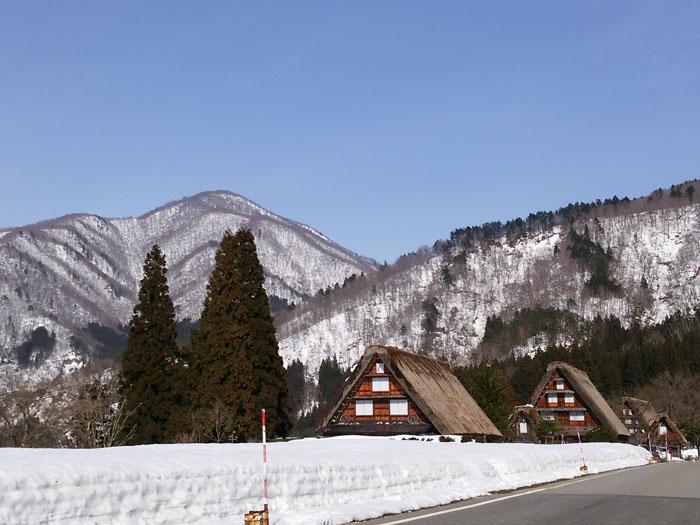 日本の歴史や文化を感じるには白川郷が一番!①