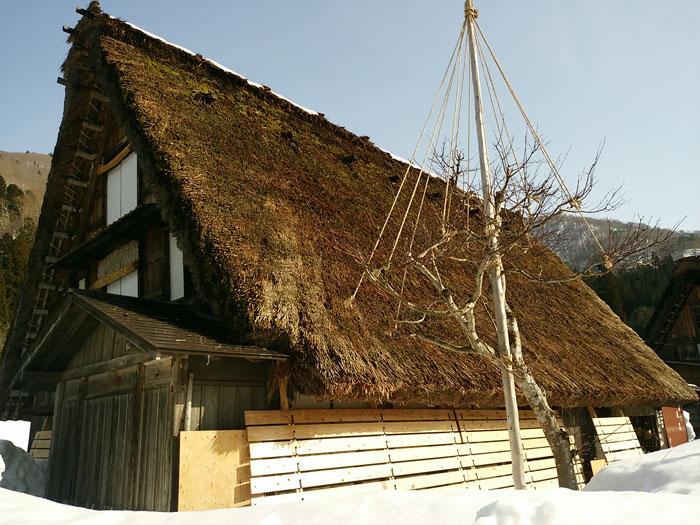 日本の歴史や文化を感じるには白川郷が一番!⑦