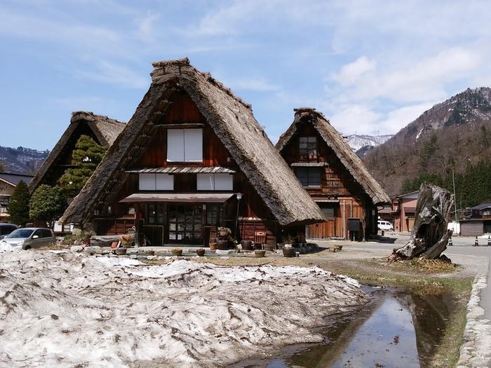 季節の移ろいを五感で感じる春季お気軽温泉!白川郷の旅へ! ④