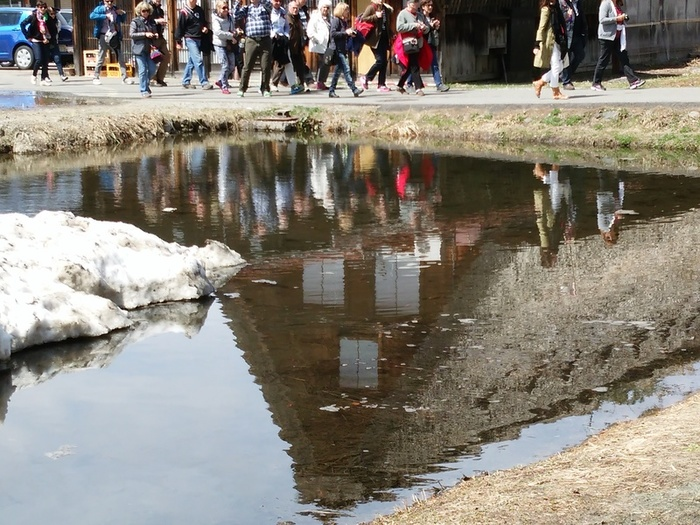 季節の移ろいを五感で感じる春季お気軽温泉!白川郷の旅へ! ⑥