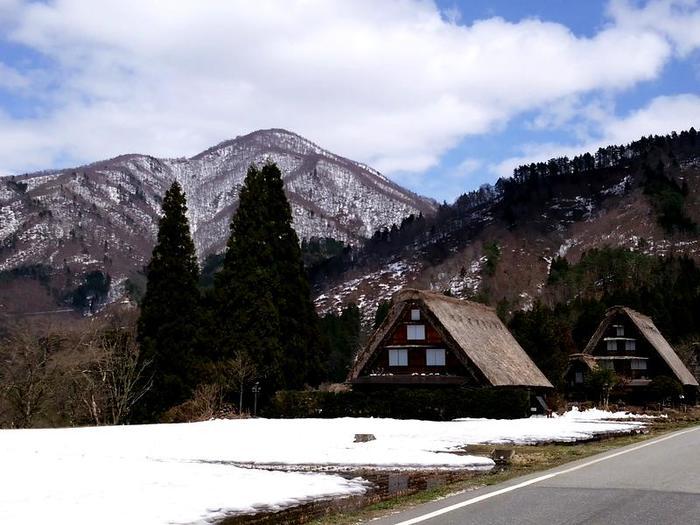 季節の移ろいを五感で感じる春季お気軽温泉!白川郷の旅へ! ⑧