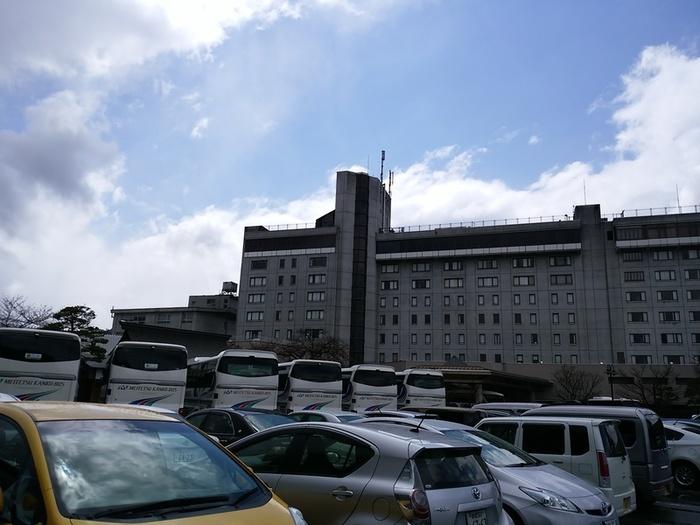 飛騨高山にある宿泊施設 高山グリーンホテル 「大白川温泉しらみずの湯」割引券付パンフレット預かって頂きました(#^.^#) ①
