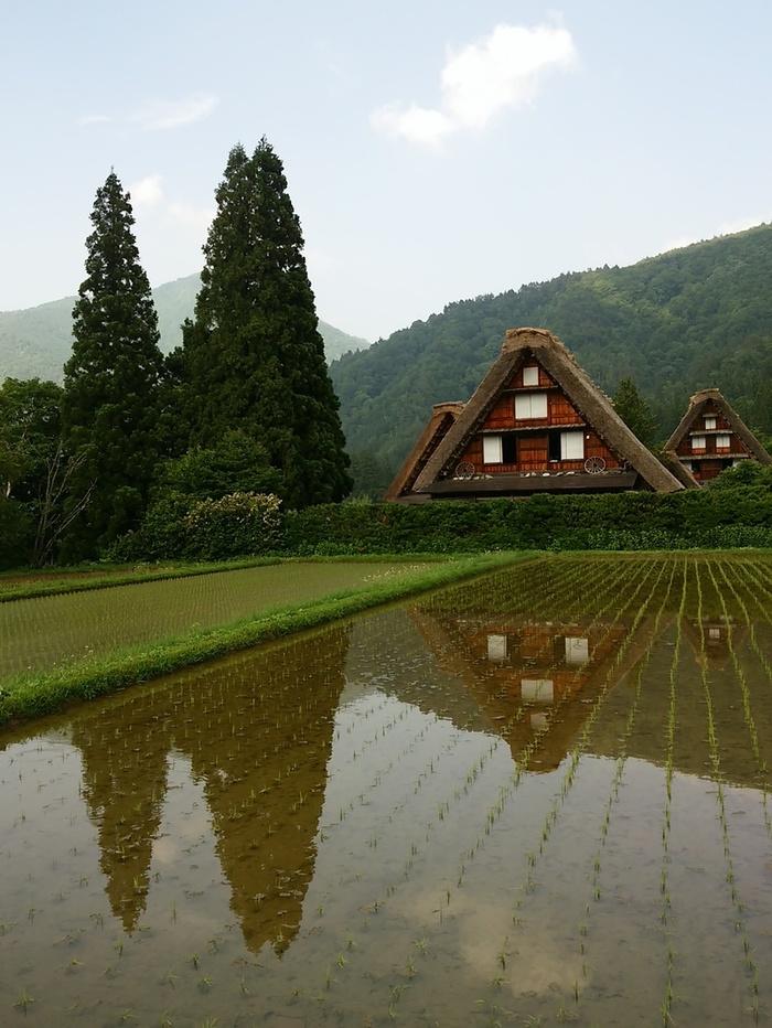 日本を感じるスポット白川郷 ①
