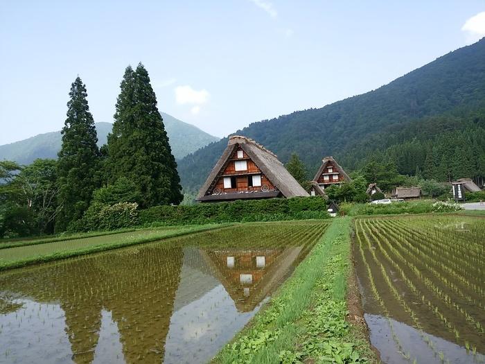 日本を感じるスポット白川郷 ②